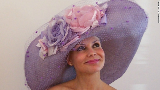 The bigger, the better! <a href='http://www.jillhenninghats.com/' target='_blank'>Jill Henning</a>'s wide brims are easy to spot, and she watches for them on Derby day.