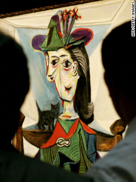 Sotheby's sold Picasso's &quot;Dora Maar au chat&quot; in 2006 for $95.2 million.