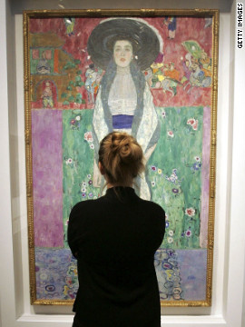 "Klimt's ""Portrait of Adele Bloch-Bauer II"" sold at Christie's in 2006 for $87.9 million."