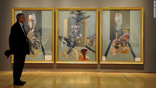 "In 2008, Sotheby's auctioned Francis Bacon's ""Triptych"" for $86.3 million."