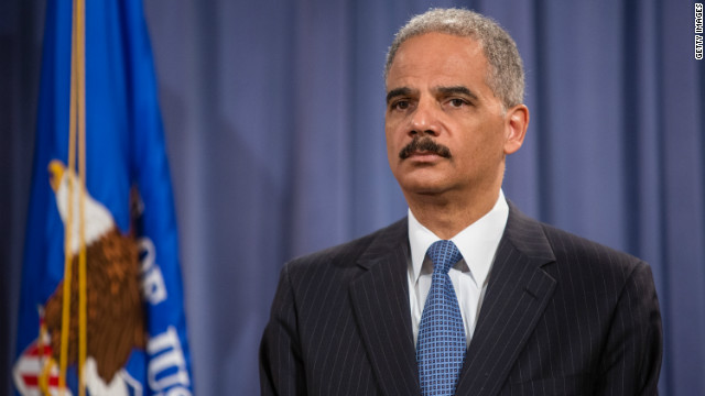 Holder: Donald Sterling not the real issue