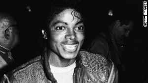 Michael Jackson at the Los Angeles premiere of the musical \'Dreamgirls\' in 1983.