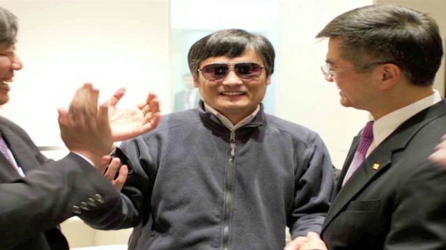 China podría permitir al activista ciego Chen estudiar en Estados Unidos