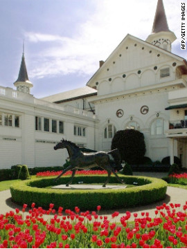 A statue of the first horse to win the derby, Aristides in 1875, now stands at Churchill Downs. African-Americans have played an integral role in the history of the race, with the first won by jockey Oliver Lewis and trainer Ansel Williamson, who was a freed slave.<br/><br/>