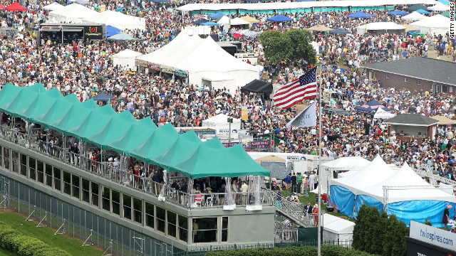 Aristides won in front of an estimated crowd of 10,000. Almost 140 years later, more than 100,000 people are expected to flock to Churchill Downs for a chance to be a part of America's oldest continuous sporting event.