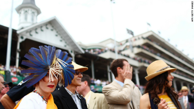 From roses to feathers, the race is just as well known for its fashion as its horses. Once a year, the international racing set descends on Louisville, clogging the skies over the city with private jets. <br/><br/>