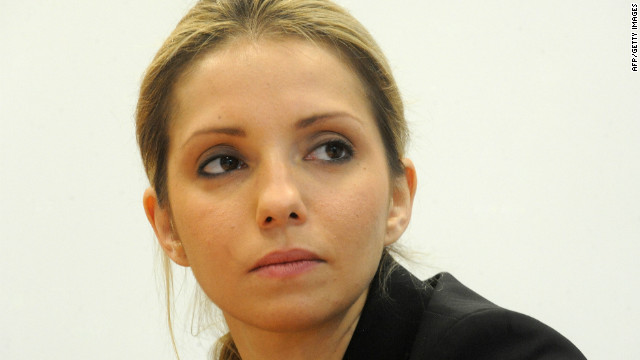 CNN spoke to Tymoshenko's daughter Eugenia about her mother's detention and alleged beating. The pictures caused a political firestorm, with many European leaders now boycotting the tournament.<br/><br/>