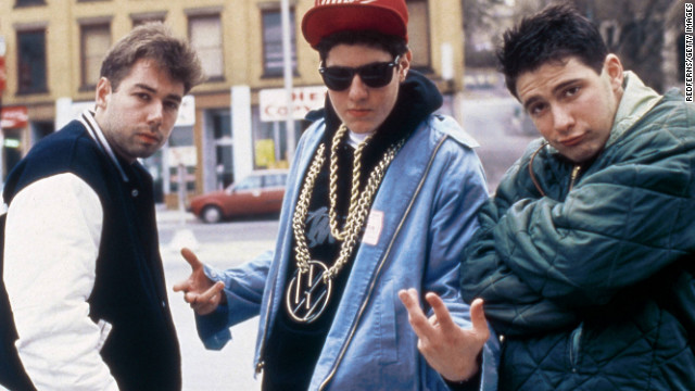 Yauch, left, hangs with fellow Beastie Boys members Mike &quot;Mike D&quot; Diamond and Adam &quot;Ad-Rock&quot; Horovitz.