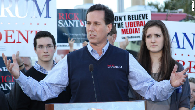 Rick Santorum's sweater vest became a fundraising tool when he sold the