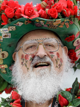 From demure to downright wacky, punters at the race come in all forms, with many donning a traditional rose.