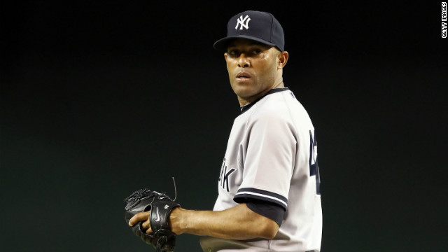 Yankees relief pitcher Mariano Rivera, 42, who sustained a knee injury Thursday, may well be out of the game.