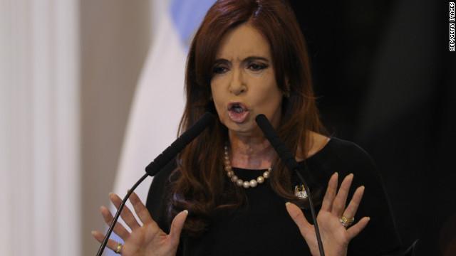 Una mayoría de argentinos rechaza un tercer mandato de Cristina Fernández de Kirchner