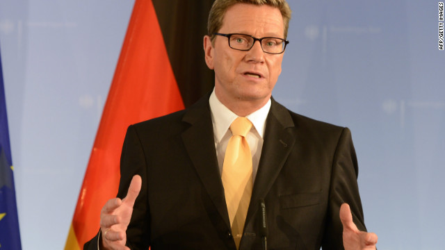 Germany's foreign minister Guido Westerwelle said that concerns over Tymoshenko could block ratification of a political and trade deal between the EU and Ukraine.