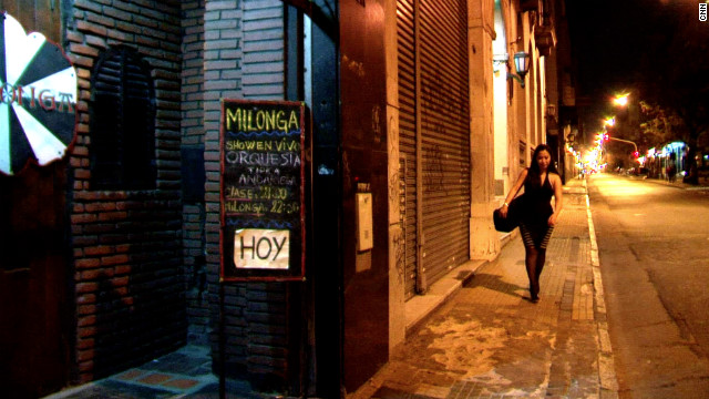 Out of her customary ball gown, Chang donned an outfit more befitting of a small local tango club, hidden along a narrow backstreet in Buenos Aires.