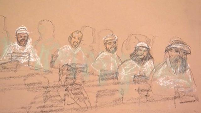 Familiares de víctimas del 11-S asisten a audiencia de supuestos autores intelectuales
