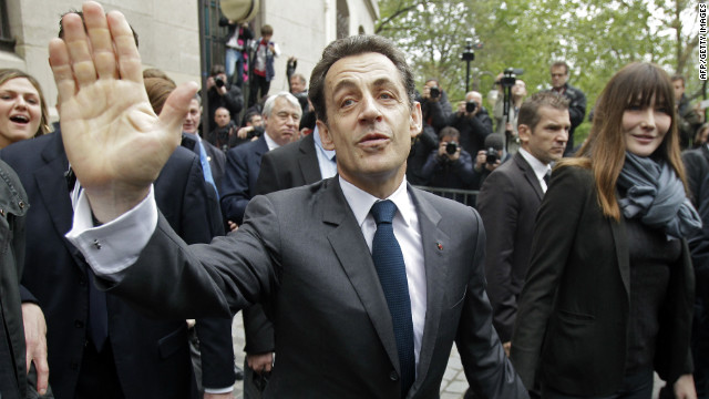 El expresidente francs Nicols Sarkozy, feliz por liberacin de Cassez