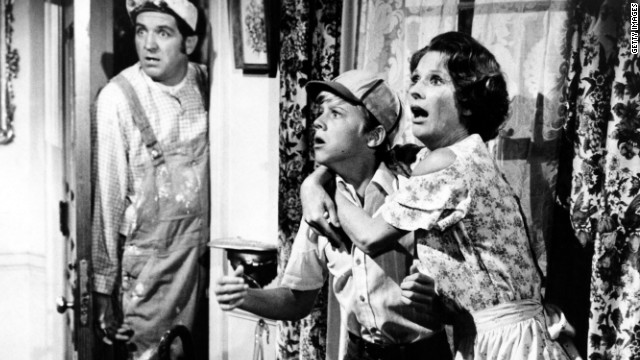 Lindsey, left, Vince Van Patten and Cloris Leachman perform in a scene from the movie &quot;Charley And The Angel,&quot; which was released in 1973.