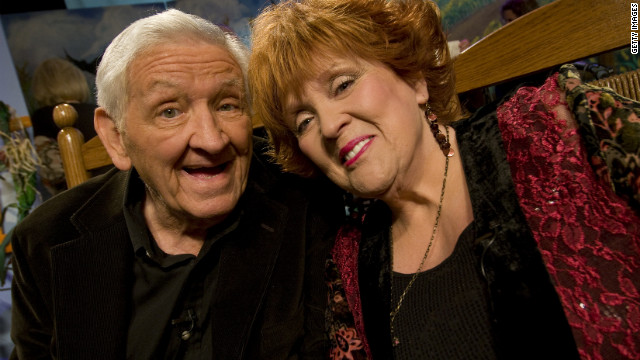 George Lindsey and Lulu Roman attend Country's Family Reunion Salute to the Kornfield in May 2011 in Nashville, Tennessee. Roman was a regular on the TV series &quot;Hee Haw,&quot; which also featured Lindsey's Goober character.