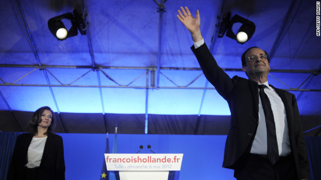 Francois Hollande anuncia el fin de su relación con la primera dama