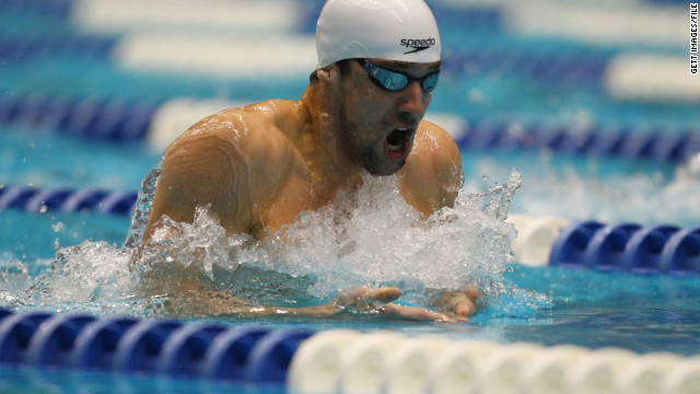 Michael Phelps could be eyeing a new record of 10 Olympic medals