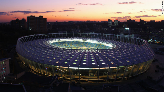 However, the preparations have been completed and Kiev's Olympic stadium will host the final on July 1.