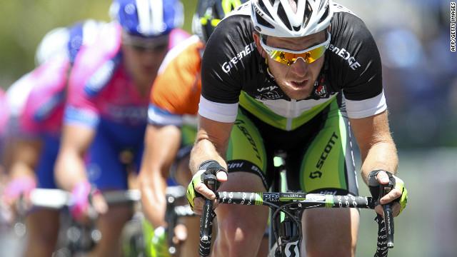 Australia's Matthew Goss won the third stage of the Giro d'Italia for the Orica GreenEdge team