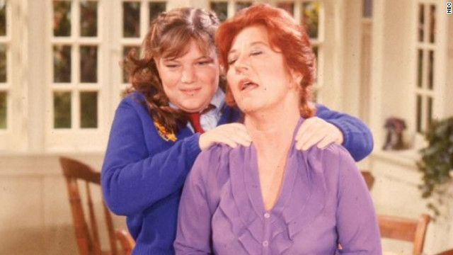 "Another mother figure to make the list is ""The Facts of Life's"" Mrs. Garrett (Charlotte Rae), pictured here with Natalie Green (Mindy Cohn). Originally the housekeeper on ""Diff'rent Strokes,"" Mrs. Garrett, the den mother-turned-dietitian at Eastland Academy, always had the girls' best interests at heart."
