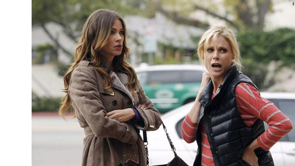 """Modern Family's"" Gloria Pritchett (Sofia Vergara) and Claire Dunphy (Julie Bowen) are two of TV's most lovable moms. The pair don't always see eye to eye, but they always put their families first. Here are more of our favorite small-screen mothers:"