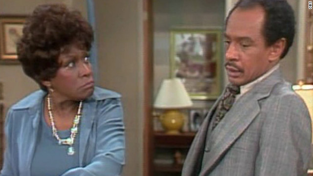 "Louise Jefferson (Isabel Sanford), better known as Weezy, was introduced to viewers on ""All in the Family."" The TV mom of two later stole the spotlight alongside her TV husband, George (Sherman Hemsley), when she ""moved on up"" to ""The Jeffersons."""