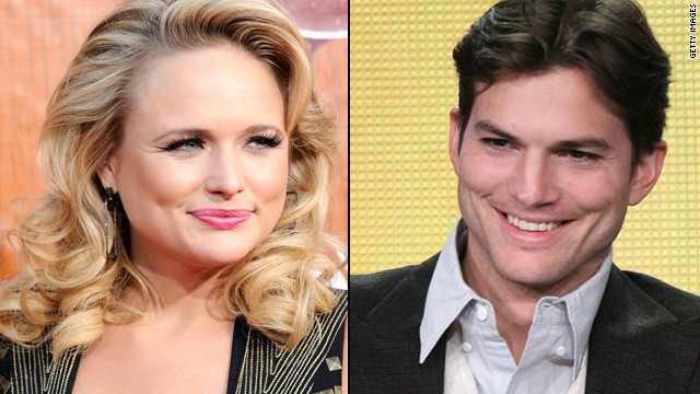 No beef between Ashton Kutcher, Miranda Lambert