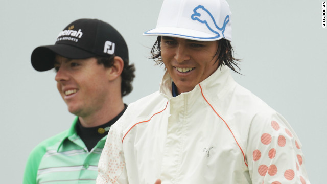 They were paired again at the next major, the British Open at Royal St. George's -- where Fowler tied for fifth and McIlroy was 25th.