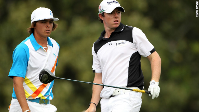 They played together for the first two rounds at last year's Masters, where McIlroy suffered a final-day collapse before winning his first major at the U.S. Open two months later. 