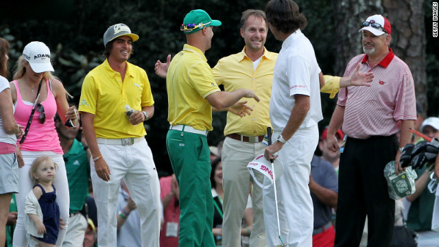 The 23-year-old wished his close friend Bubba Watson had been there to help celebrate. Fowler was on the green when Watson won his first major at the Masters in April, but the left-hander has played only one tournament since then as he is spending time with his newly-adopted son.