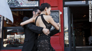 Tango in Caminito Street.