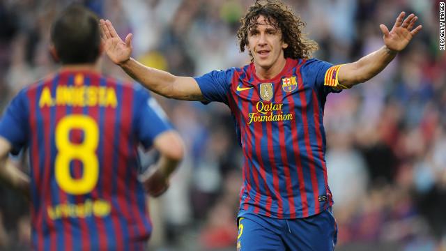 Carles Puyol no jugará la final de Copa del Rey y podría perderse la Eurocopa