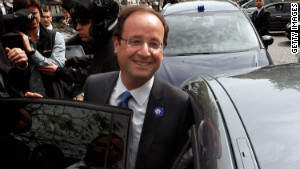Socialist François Hollande says the strong showing for the National Front is an expression of people\'s \