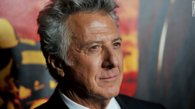 Dustin Hoffman saves jogger's life