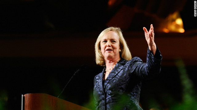 Meg Whitman is the head of information technology company Hewlett-Packard, which came in 15th on this year's overall Fortune 500 list.
