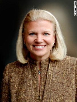Virginia Rometty is president and CEO of IBM. She is the first women to lead the technology giant, America's 20th largest company, according to Fortune.