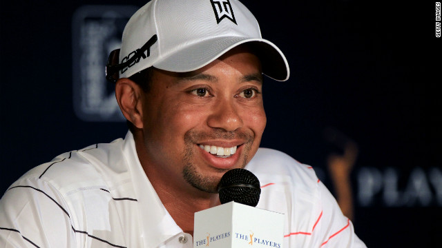 Tiger Woods had to defend himself at a press conference ahead of this week's $9.5 million Players Championship at TPC Sawgrass in Ponte Vedra Beach, Florida.