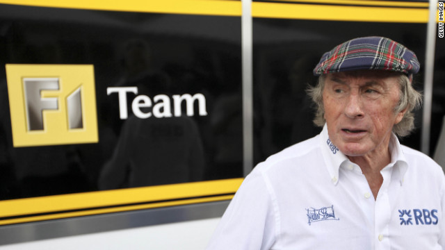 Formula One legend Jackie Stewart is unhappy with the