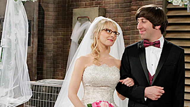 Nerd nuptials on 'The Big Bang Theory'