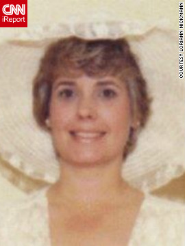 Loriann Nickmann's mom, Nancy Taylor, shown here at her 1979 wedding, was sensitive, demure and a little shy -- characteristics her daughter never shared. But on the Mother's Day 1991, Taylor brought her daughter a book of bawdy jokes and even laughed when they were read out loud. Now, Nickmann says, she sees more of her mother in herself.