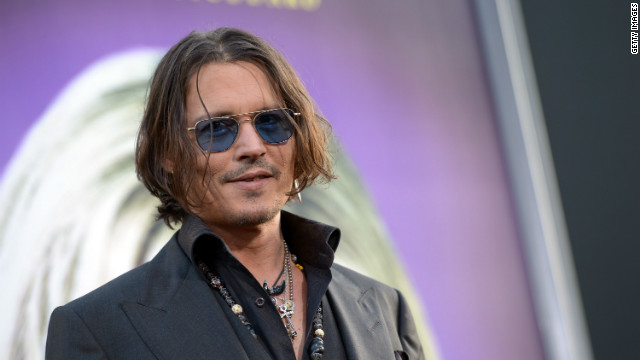 Johnny Depp's Willy Wonka inspired by George Bush