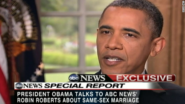 Obama: Same-sex couples should have right to marry