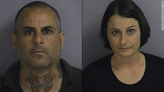 Marcus and Patricia Faella are two of 10 alleged members of a white supremacist group accused of a plot to start a