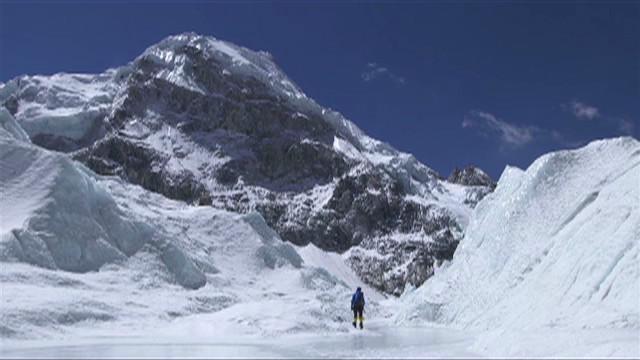 Un viaje olímpico a la cima del Monte Everest