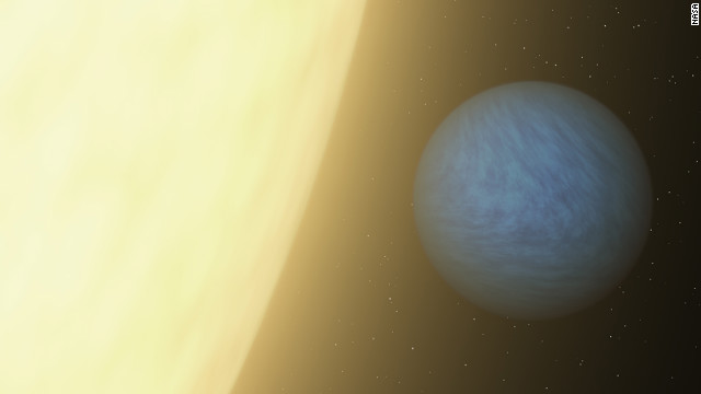 Light from 'super-Earth' detected by NASA telescope