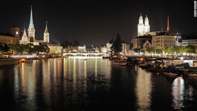 Having a car in Zurich will cost you $822 a month on parking bills.