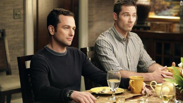 "On ""Brothers and Sisters,"" which aired on ABC from 2006 to 2011, Kevin Walker (Matthew Rhys) proposed to Scotty Wandell (Luke Macfarlane). The pair had two children, Olivia and Daniel."
